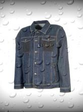 Jacke-dark denim