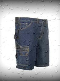 Shorts- dark denim